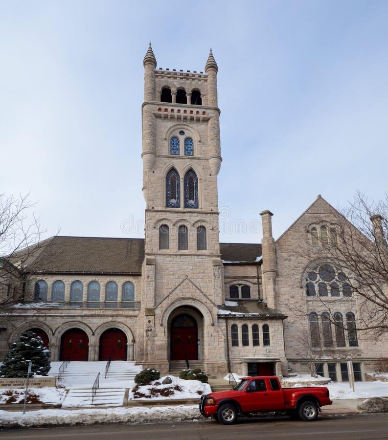 ?a Igreja Congregacional foto de stock royalty free