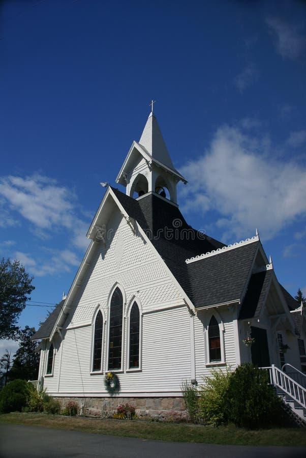 Igreja Congregational fotos de stock