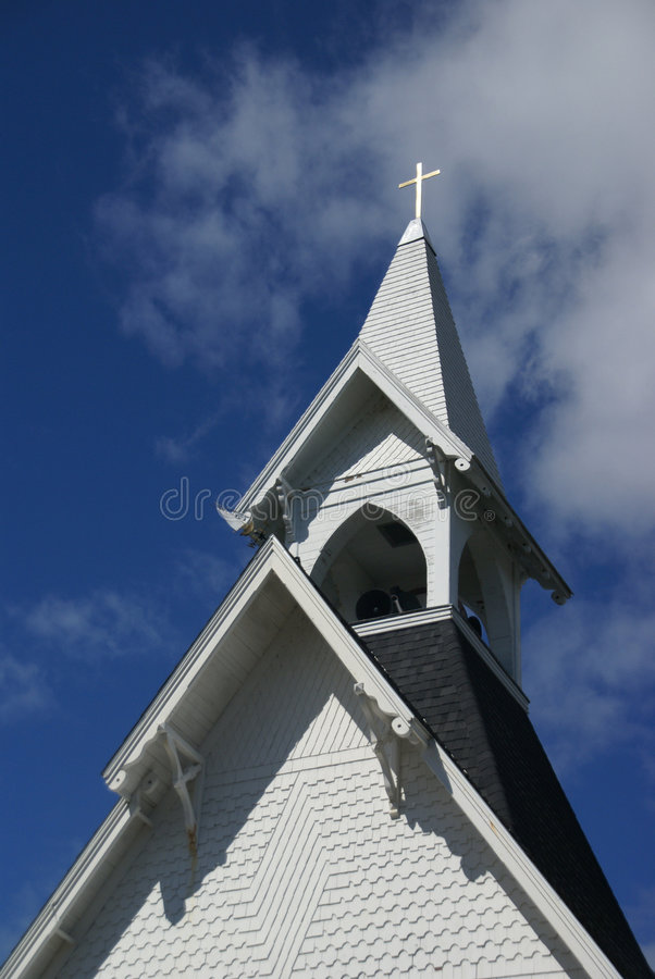 Igreja Congregational foto de stock royalty free