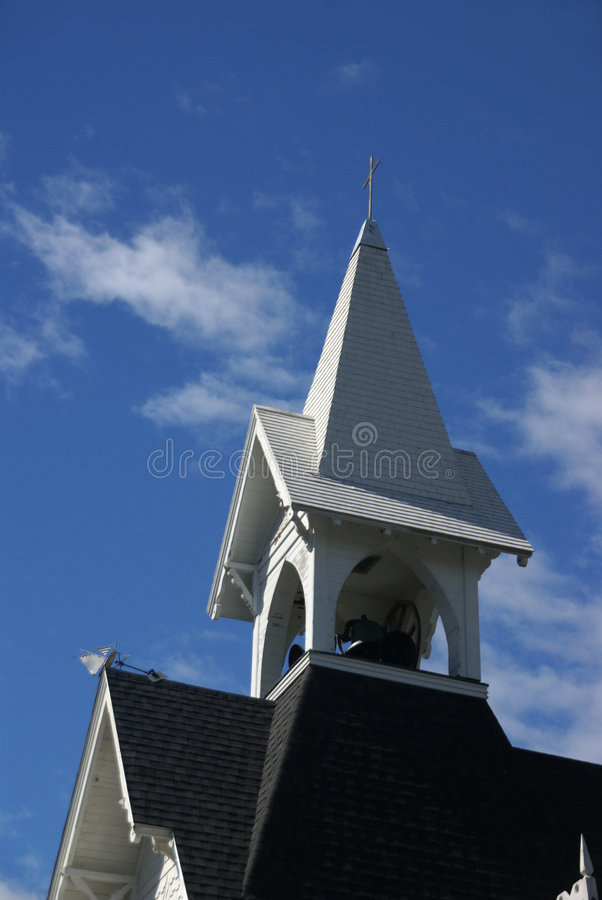 Igreja Congregational imagem de stock