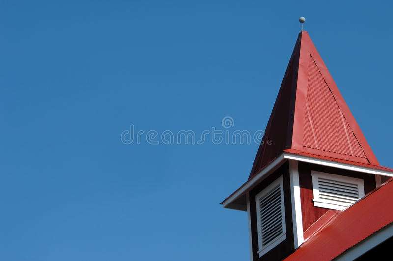 Igreja Congregational de Helani imagens de stock
