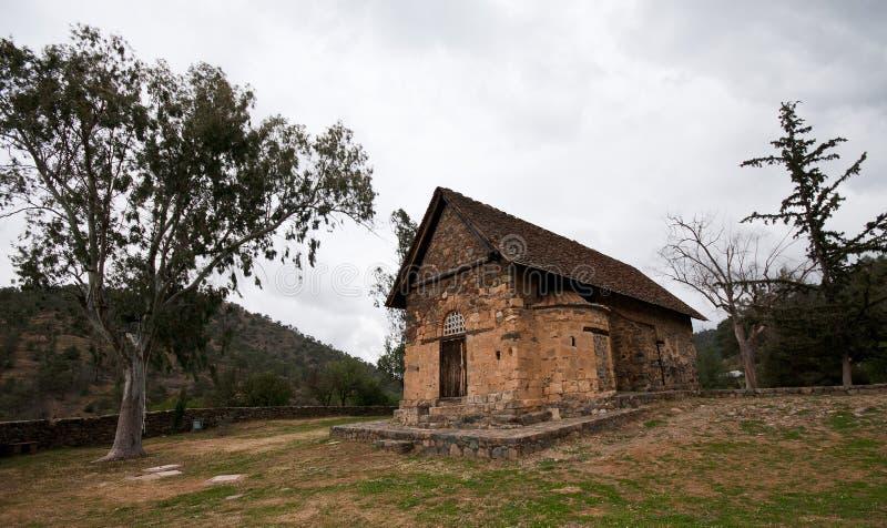 Igreja cristã antiga imagens de stock royalty free