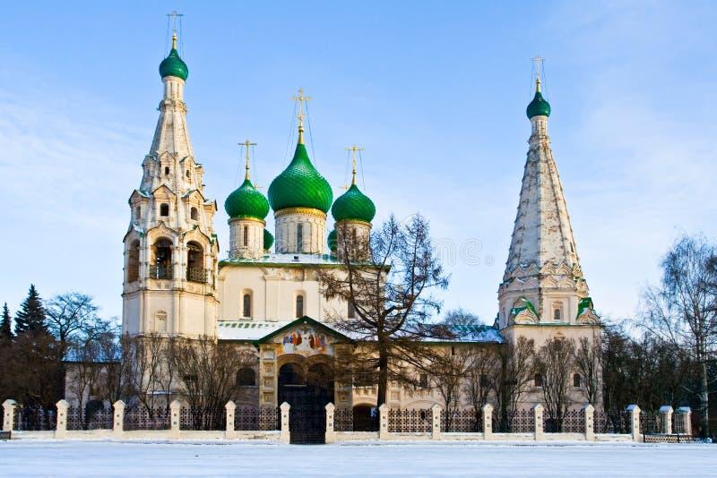 Igreja cristã em Yaroslavl imagens de stock