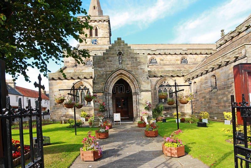 Igreja cristã velha em St Andrews, Scotland fotos de stock royalty free