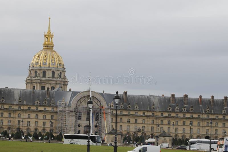 A igreja da casa de desabilitou em França fotografia de stock