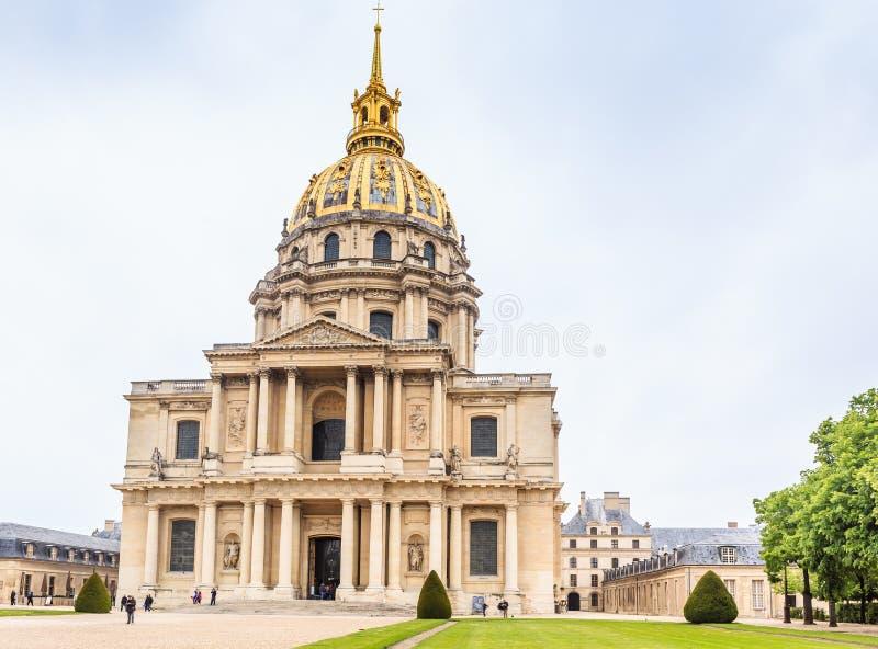 A igreja da casa de desabilitou, Paris foto de stock