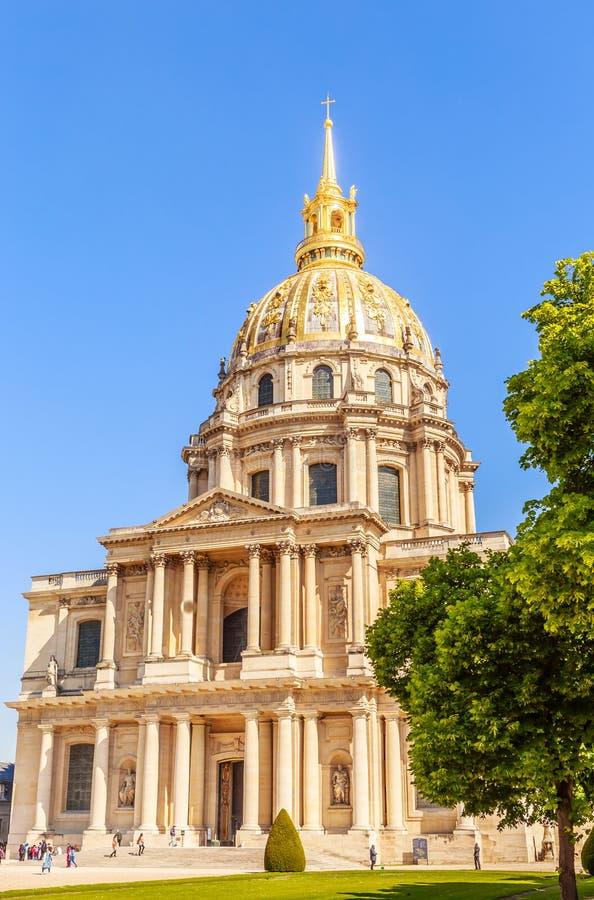 A igreja da casa de desabilitou, Paris fotografia de stock royalty free
