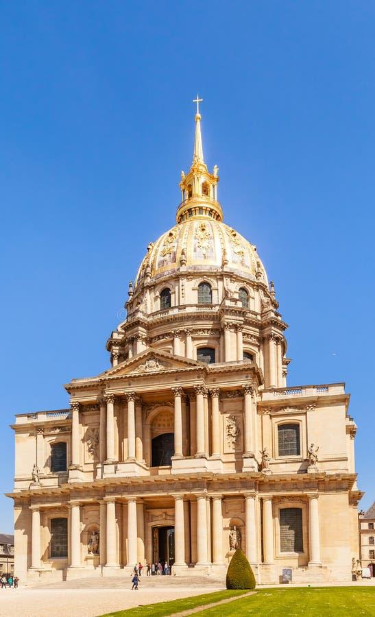 A igreja da casa de desabilitou, Paris imagem de stock