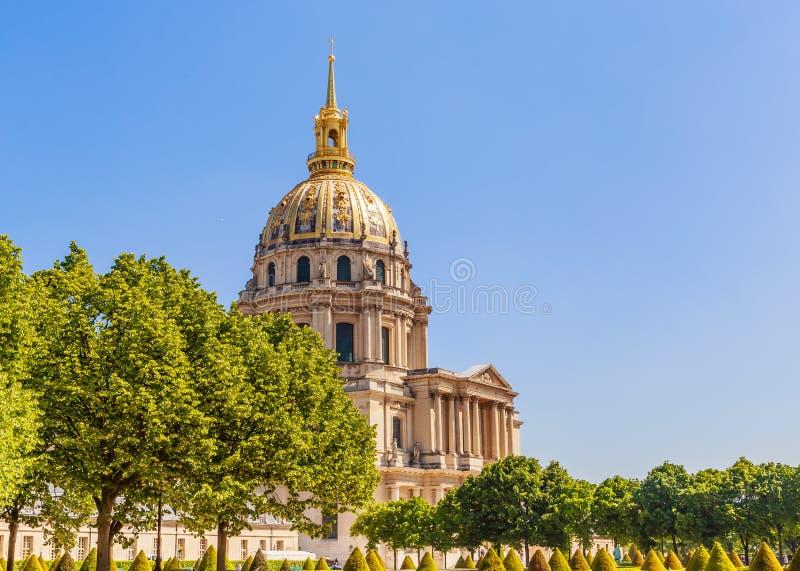 A igreja da casa de desabilitou, Paris foto de stock royalty free