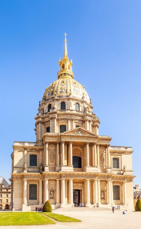 A igreja da casa de desabilitou, Paris, França foto de stock royalty free