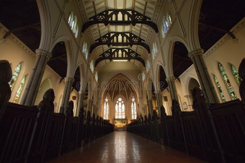 Igreja da catedral de St James, Toronto fotos de stock royalty free