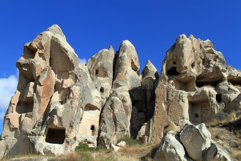 Igreja da caverna da rocha fotografia de stock
