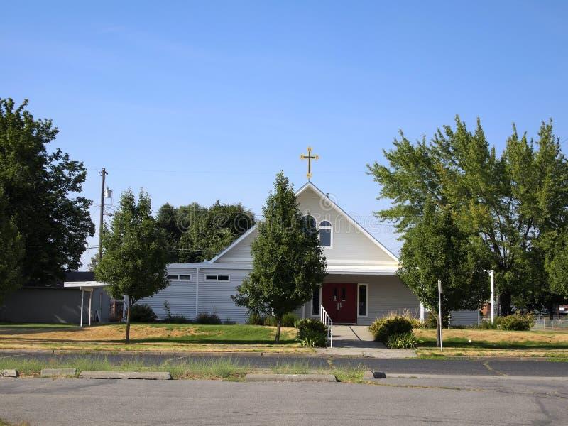 Igreja da cidade fotografia de stock