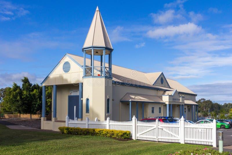 Igreja da cidade em Maryborough, Queensland, Austrália fotografia de stock