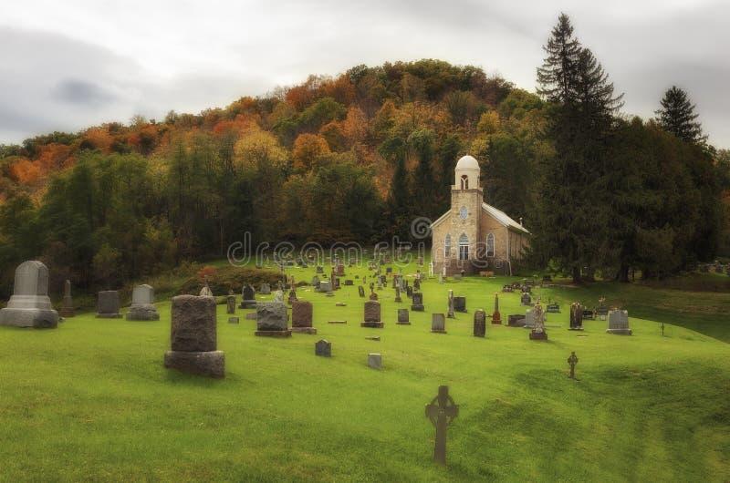 Igreja da concepção imaculada imagens de stock