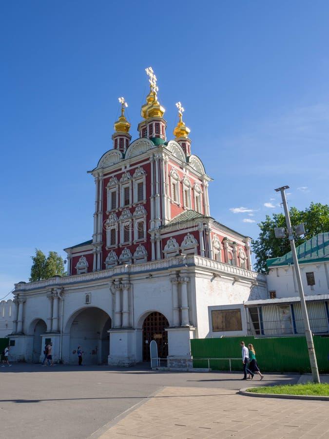 A igreja da entrada imagens de stock royalty free