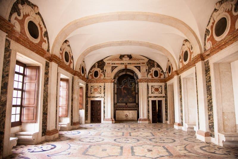 Igreja da Graça是一个老教会和女修道院在埃武拉,葡萄牙 免版税库存照片