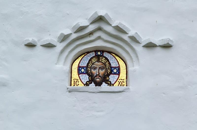 A igreja da intercessão, Veliky Novgorod imagem de stock royalty free