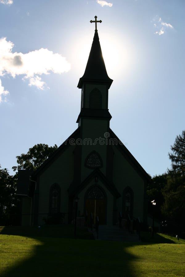 Igreja da luz imagem de stock