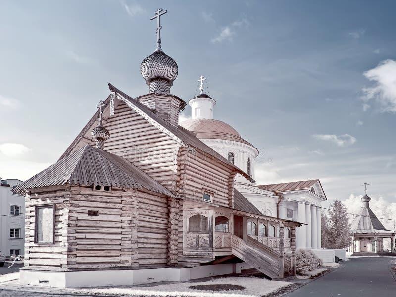 Igreja da mãe do deus foto de stock
