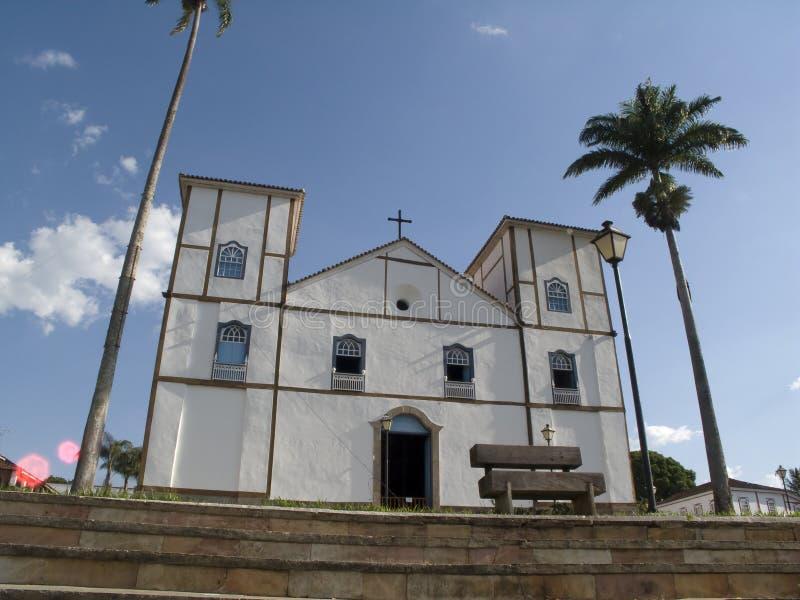 Igreja DA Matriz Nossa Senhora hace Rosrio foto de archivo