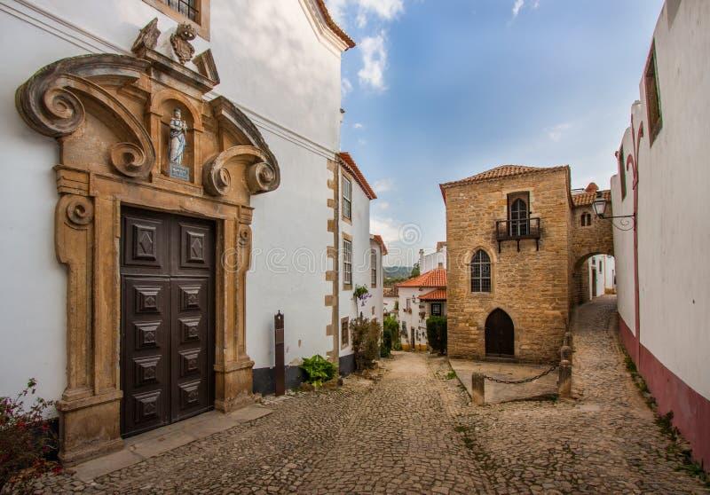 Igreja DA Misericórdia, Obidos, Portugal photographie stock libre de droits