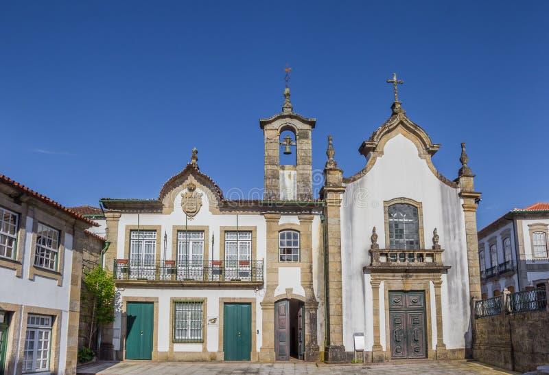 Igreja da Misericordia i Ponte da Barca royaltyfria bilder