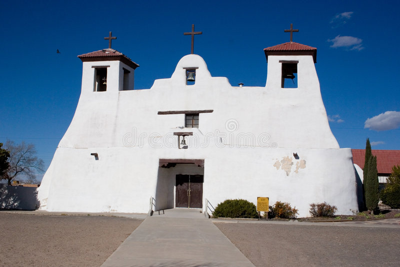 Igreja da missão foto de stock