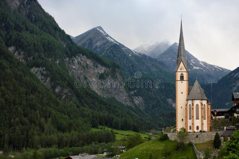Igreja da montanha fotografia de stock
