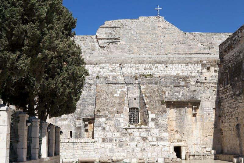 A igreja da natividade imagens de stock royalty free