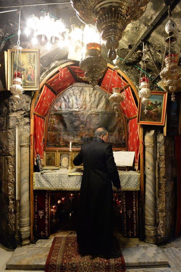 Igreja da natividade em Bethlehem foto de stock