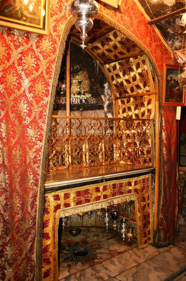 Igreja da natividade em Bethlehem fotos de stock royalty free