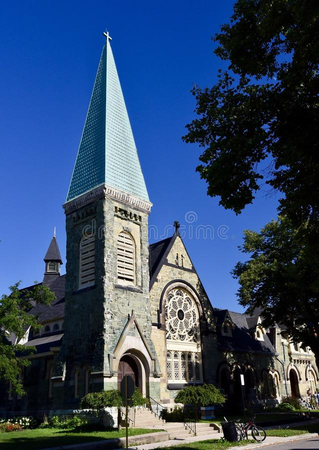Igreja da nefrite fotografia de stock