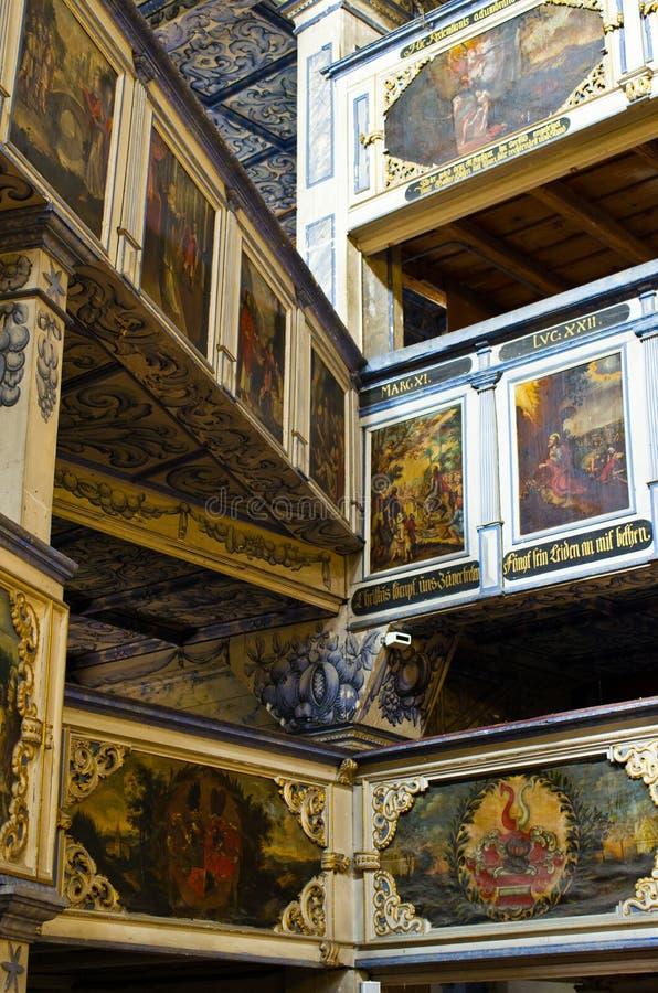 A igreja da paz em Jawor, Polônia imagem de stock royalty free