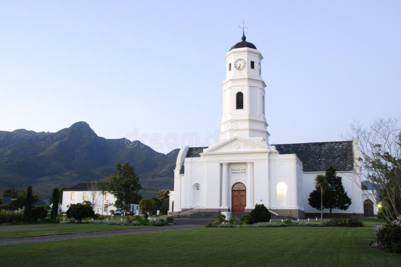 Igreja da reforma do Dutch: George Western Cape South Africa fotos de stock