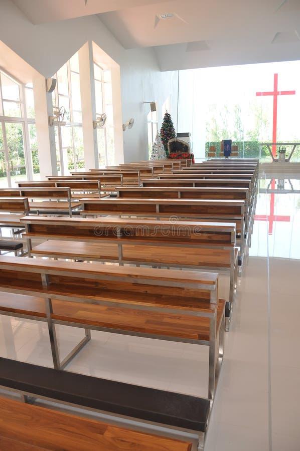 Igreja da suposição de Pattaya imagens de stock