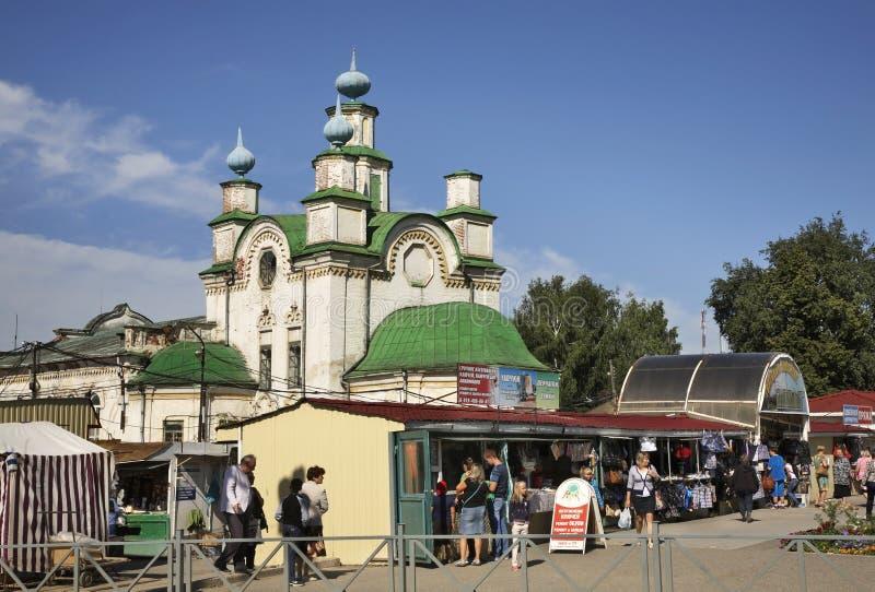 Igreja da suposição em Kungur Perm Krai Rússia imagem de stock royalty free