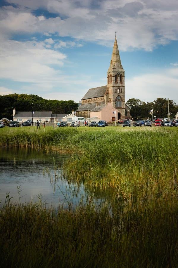 Igreja da suposição Nossa ilha do ` s da senhora condado Wexford ireland foto de stock
