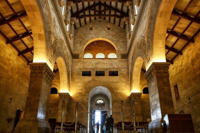 Igreja da transfiguração fotografia de stock royalty free