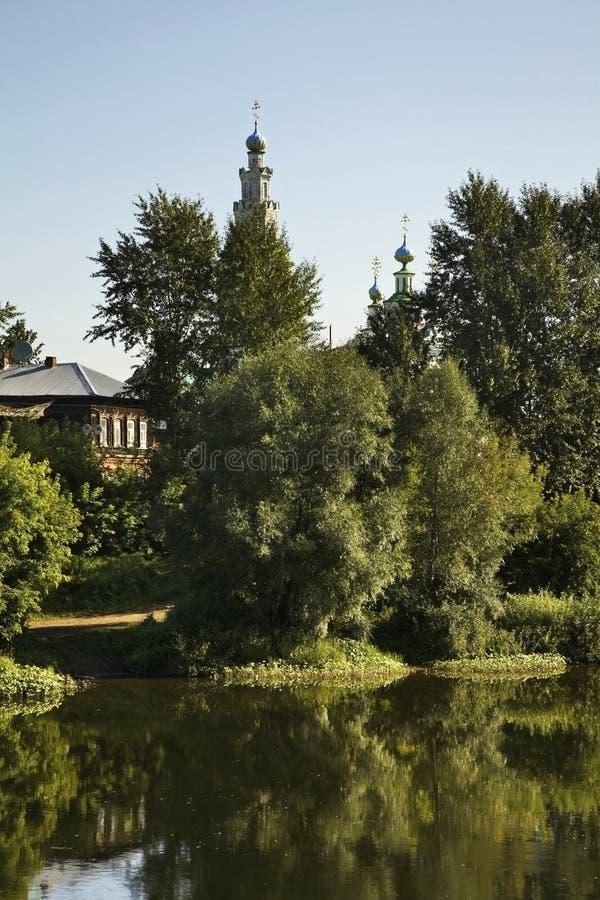 Igreja da transfiguração em Kungur Perm Krai Rússia foto de stock