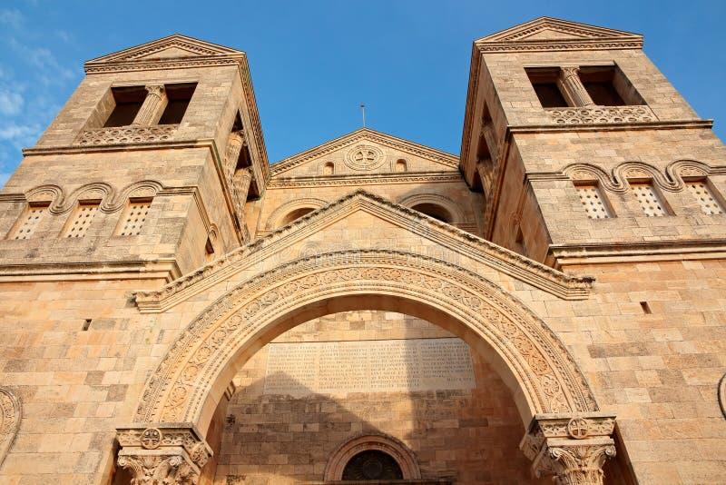 Igreja da transfiguração - Israel fotografia de stock