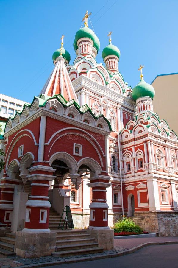 Igreja da trindade santamente fotografia de stock