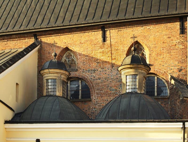 Igreja da trindade santamente em Krosno poland imagem de stock