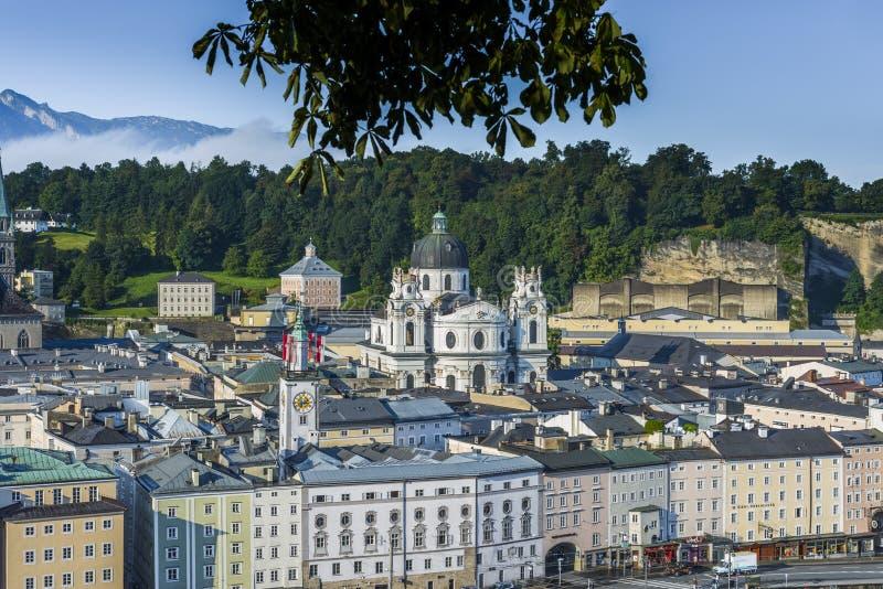 Igreja da universidade (Kollegienkirche) em Salzburg, Áustria imagens de stock royalty free
