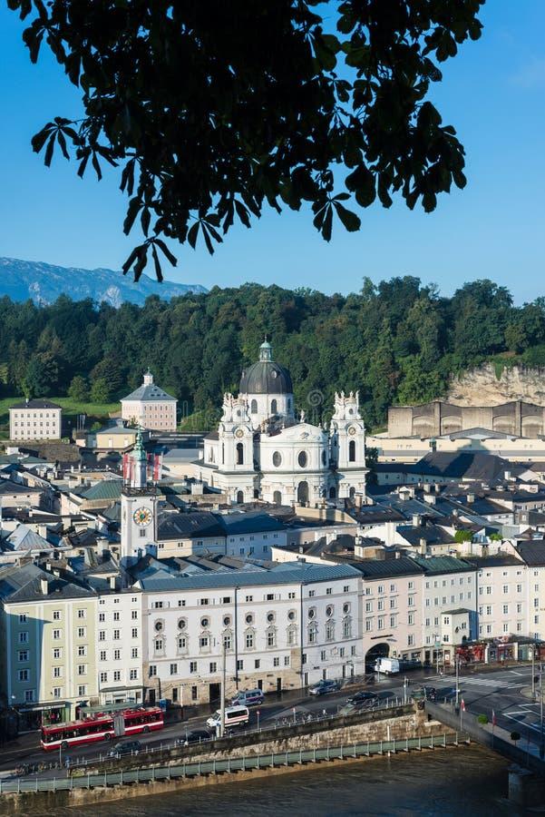 Igreja da universidade (Kollegienkirche) em Salzburg, Áustria fotos de stock royalty free
