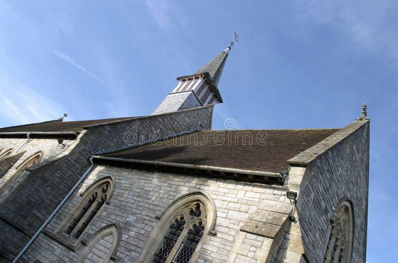 Igreja Da Vila Foto de Stock