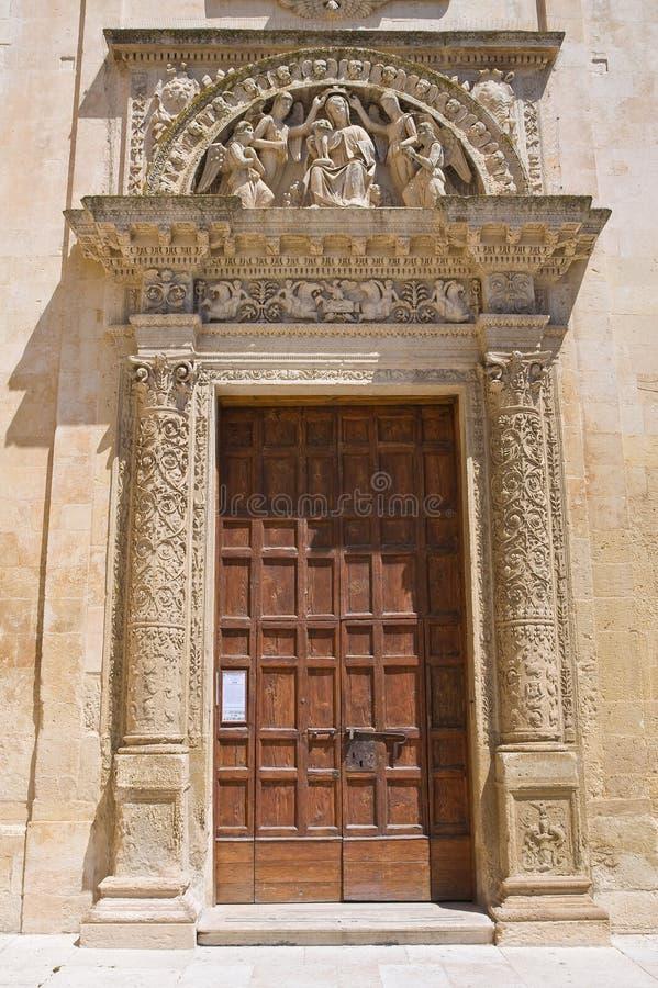 Igreja de ângeluss do degli do St. Maria. Lecce. Puglia. Itália. imagens de stock