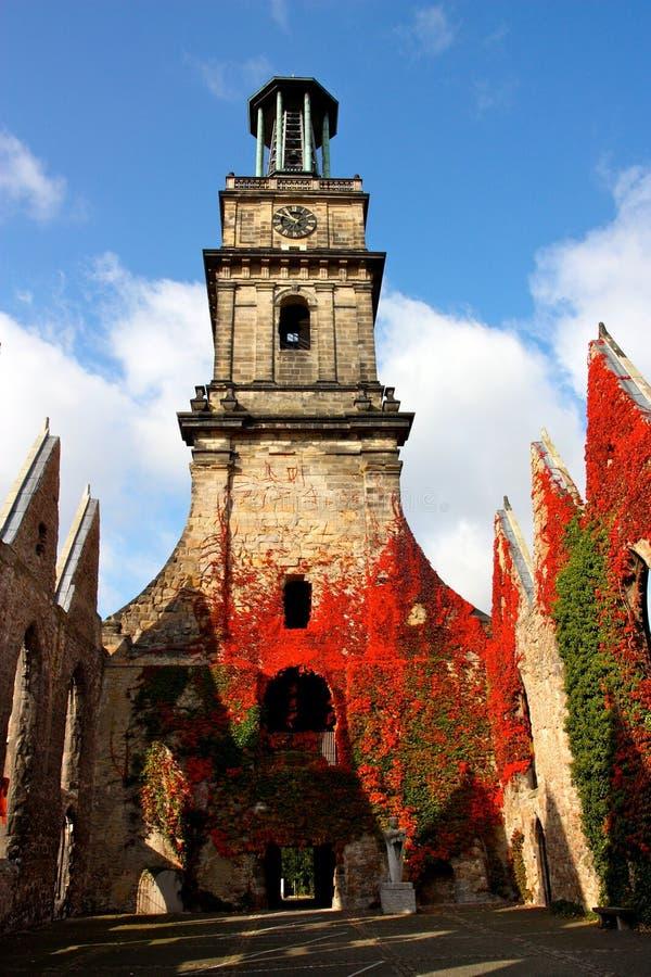 Igreja de Aegidien em Hanover, Alemanha fotos de stock