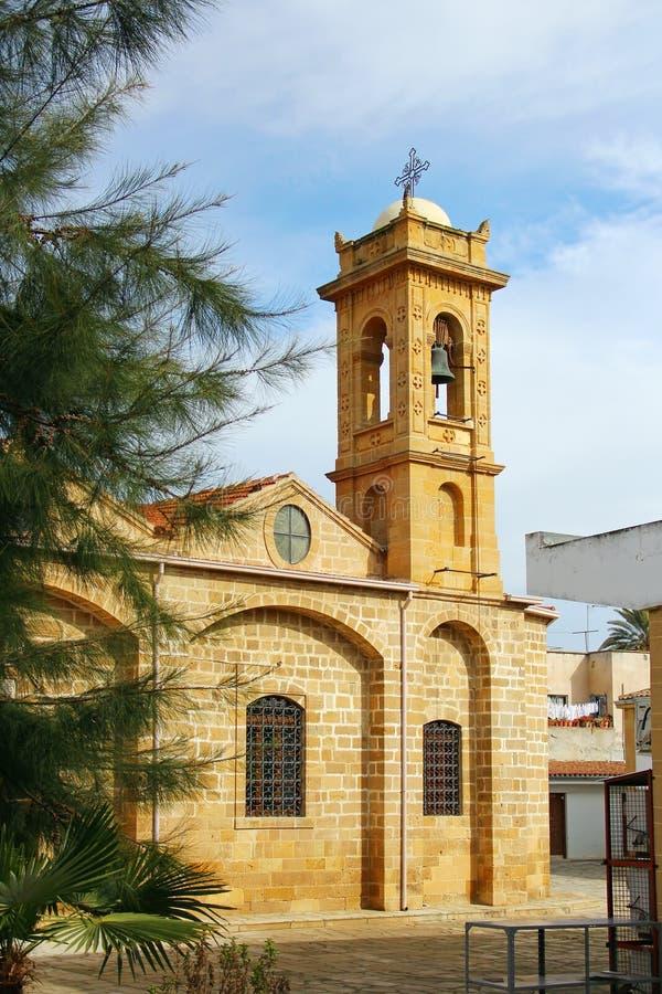 Igreja de Agios Savvas em Nicosia imagens de stock royalty free