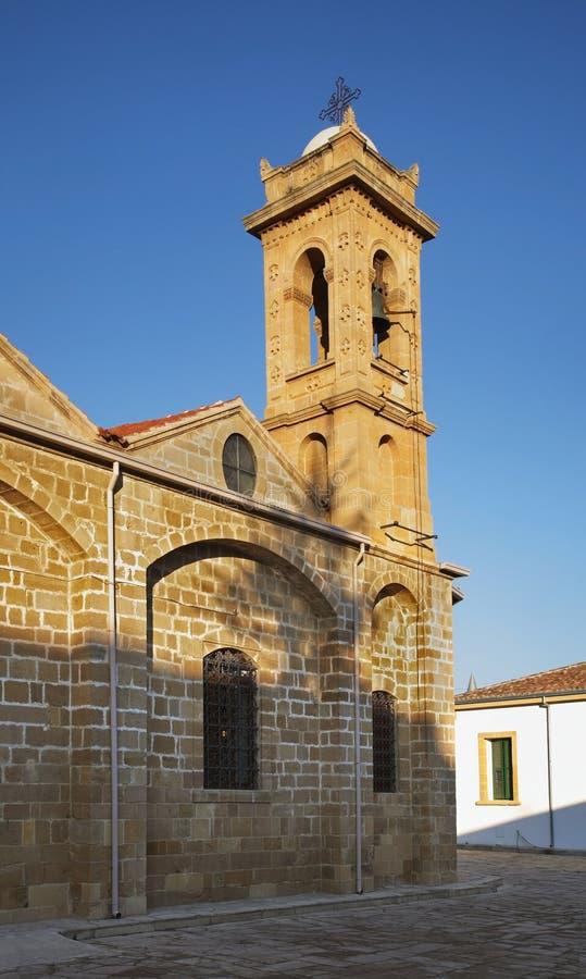 Igreja de Agios Savvas em Nicosia chipre foto de stock